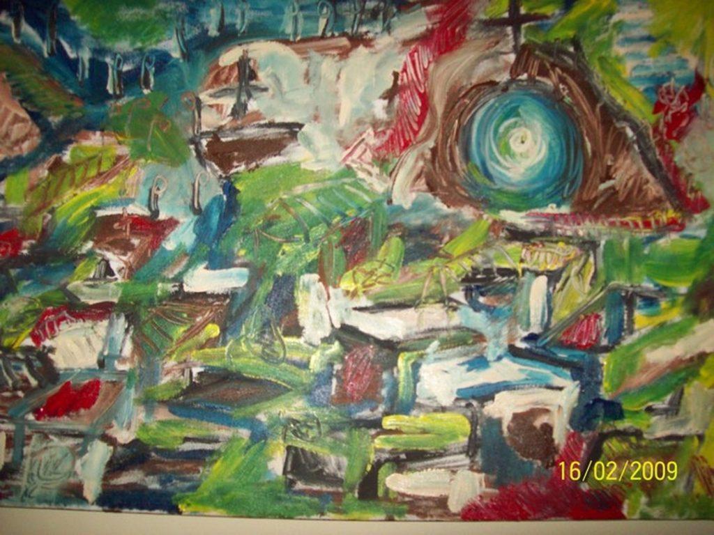 Pintura acrílica quadros online