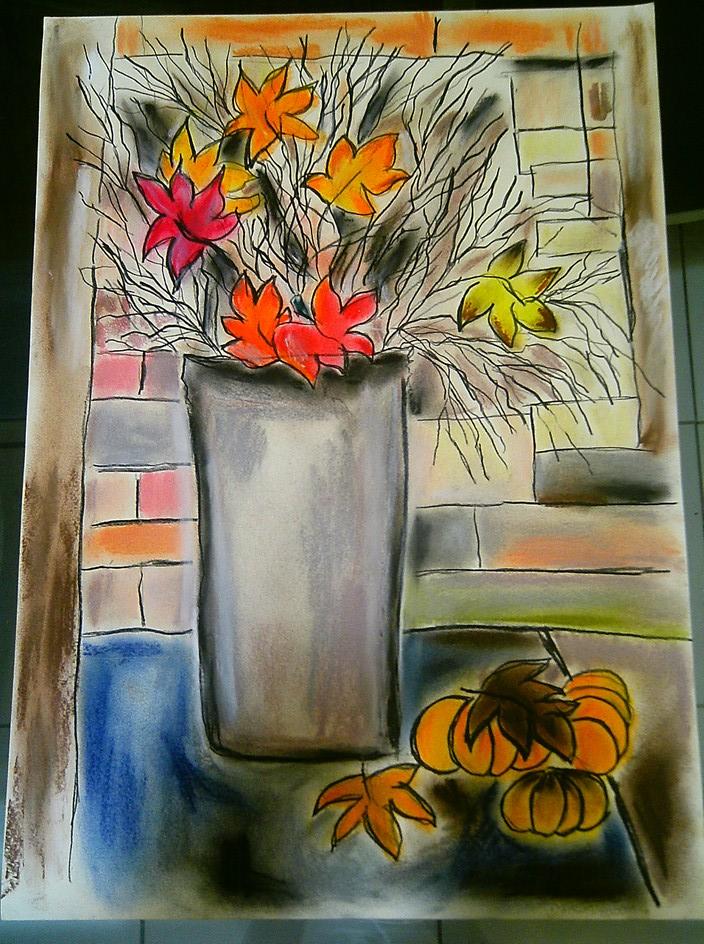 desenho pastel seco galeria de arte online