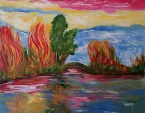 Tinta óleo sobre tela