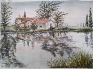 Um lago de paz (Eloah Mestieri)